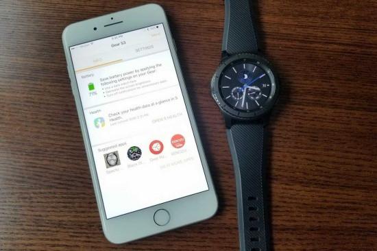 Samsung Watch có kết nối được với iPhone