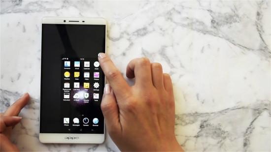 Tại sao Oppo bị thu nhỏ màn hình?