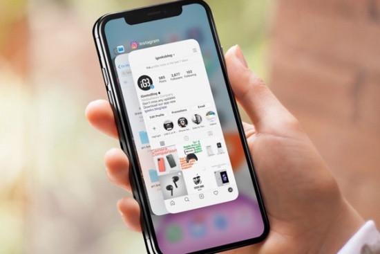 Tắt bỏ ứng dụng chạy ngầm iPhone 12 Pro Max