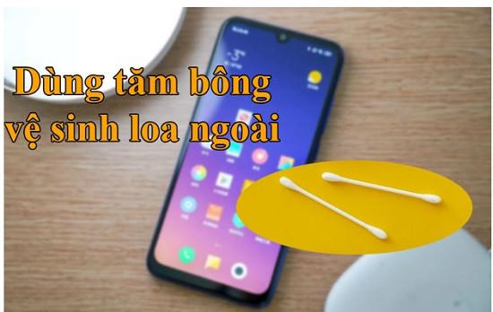 Vệ sinh loa ngoài Xiaomi