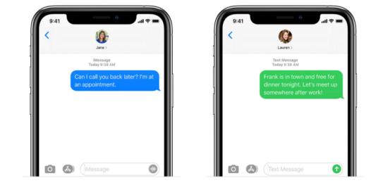 iPhone 12 không nhận được tin nhắn