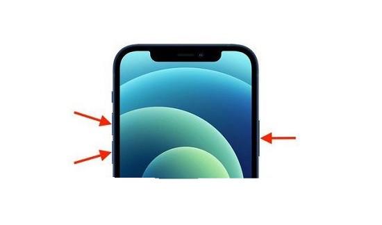 Khởi động lại iPhone 12 Pro Max