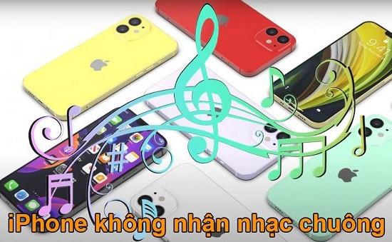 Lỗi iPhone không nhận nhạc chuông