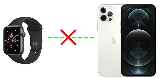 Nguyên nhân Apple Watch mất kết nối với iPhone