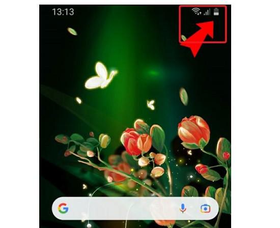 Nguyên nhân Samsung không hiển thị phần trăm pin
