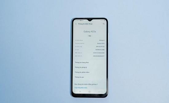 Thay loa trong Samsung A03s uy tín giá rẻ