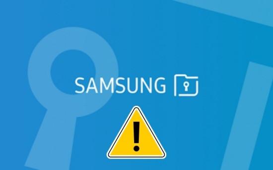 Thư mục bảo mật trên Samsung