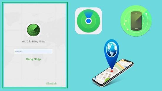 Tìm iPhone bị mất khi không có iCloud