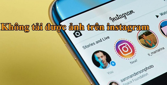 Lỗi không tải được ảnh trên instagram