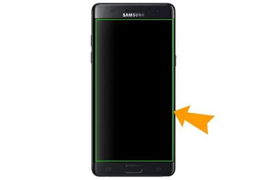 Nguyên nhân điện thoại Samsung bị khung xanh