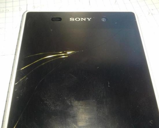 Sony XA bi loi cuoc goi