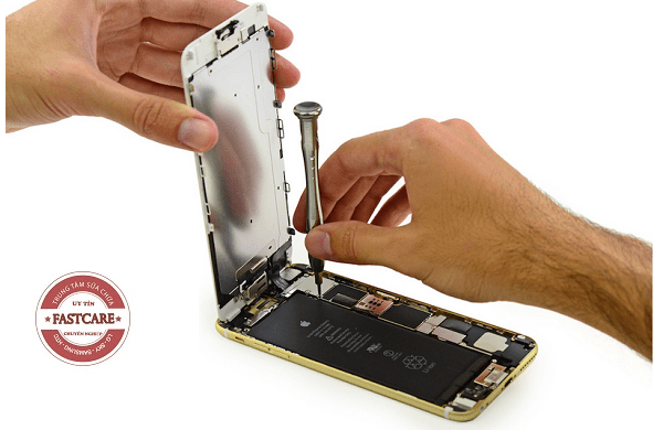Thay man hinh iPhone 6, 6 Plus, 6S, 6S Plus