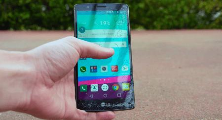 Thay mặt kính LG G4
