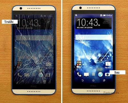 Thay màn hình mặt kính cảm ứng HTC Desire 820 giá rẻ