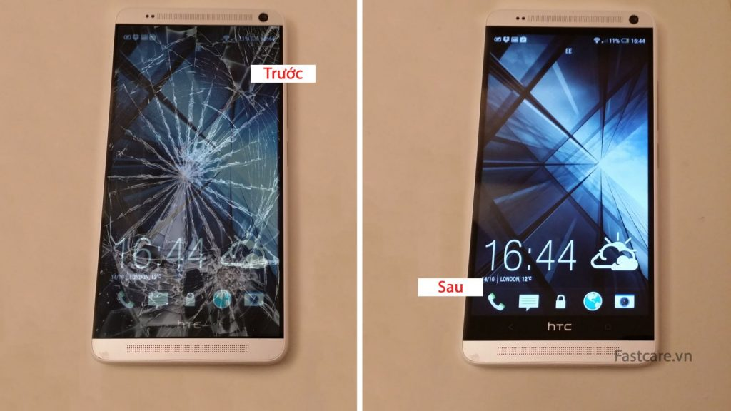 Thay man hinh mat kinh cam ung HTC One Max gia re