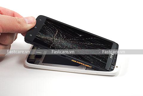 Thay màn hình mặt kính cảm ứng HTC One X giá rẻ