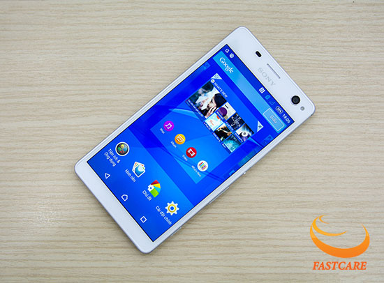 Thay man hinh Sony Xperia C re chat luong