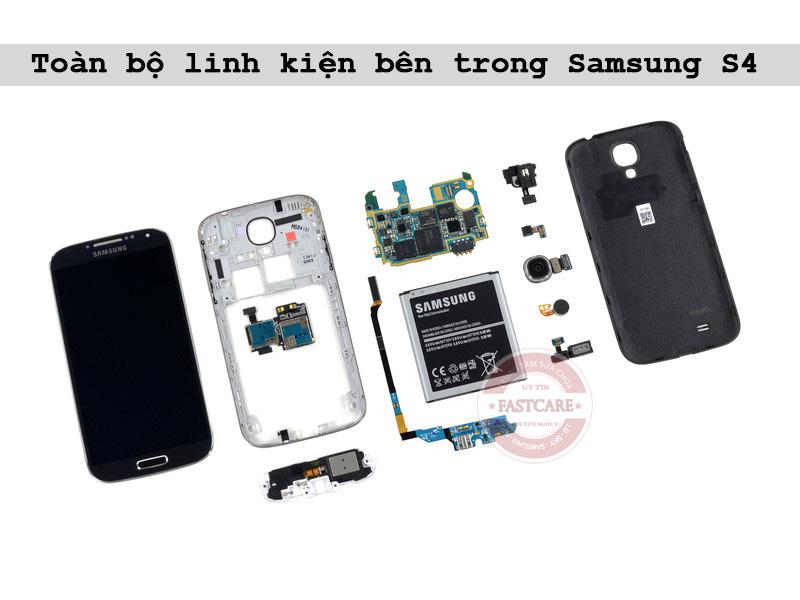 Thay mat kinh man hinh Samsung Galaxy S4