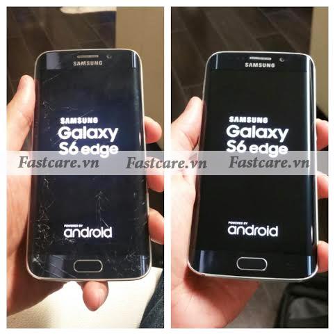 Thay man hinh Samsung S6 Edge, S6 Edge Plus tai TP HCM