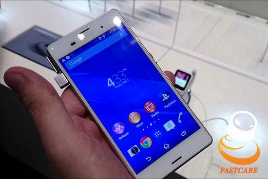 Thay màn hình Sony Z3 bao nhiêu tiền ở đâu chính hãng