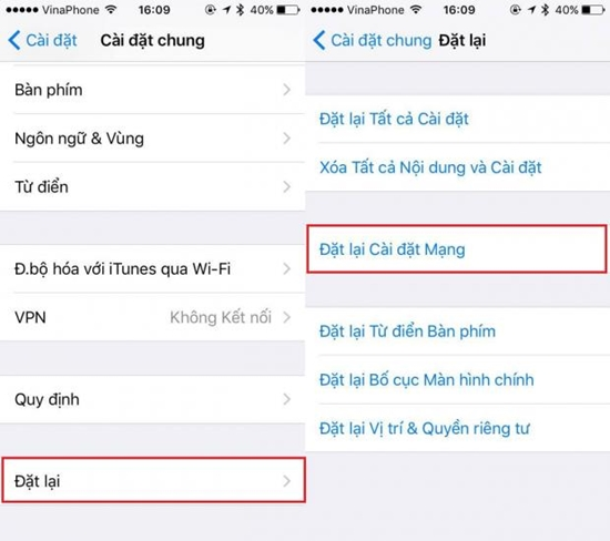 iPhone 7 bắt wifi kém