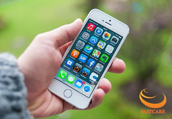 iphone 5s bi loi cam ung