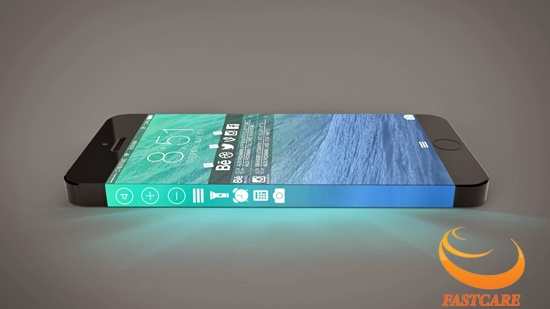 iPhone 7 bi loi man hinh xanh