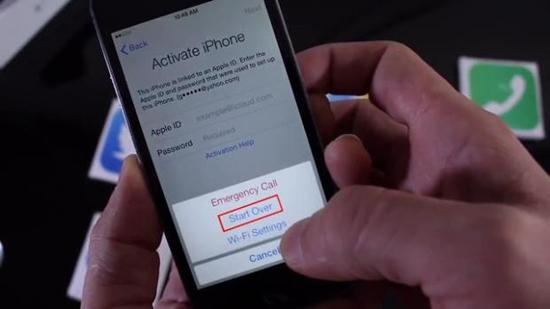 khac phuc loi iPhone 7 khong nhan sim