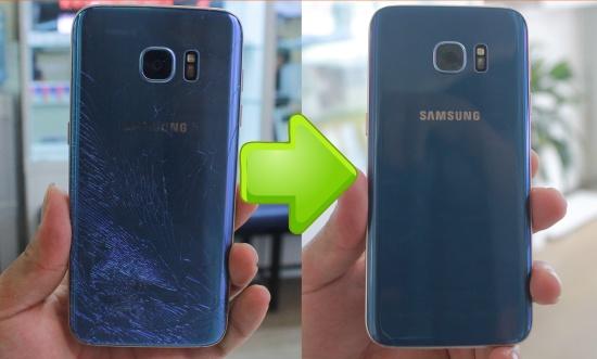 Thay mat kinh sau Samsung