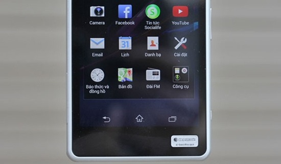 Thay mat kinh Sony Z1 Compact