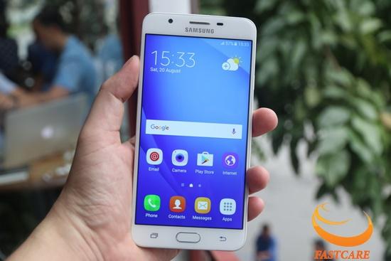 loa Samsung J7 nho