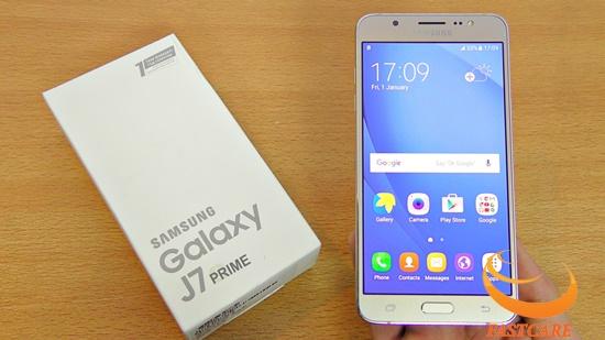 Phim cam ung Samsung J7 Prime khong sang