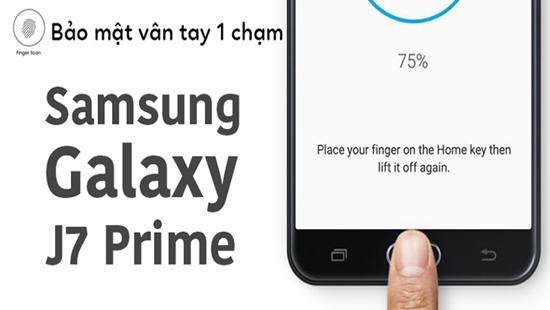 Khoa van tay Samsung J7 prime
