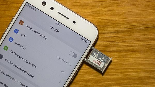 Di chuyển ứng dụng sang thẻ nhớ