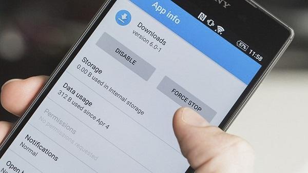 Khắc phục lỗi đầy bộ nhớ khi tải ứng dụng trên Play Store