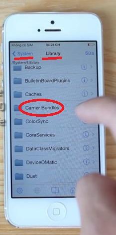 mở ứng dụng iTool trên máy tính ra rồi nhập đường dẫn