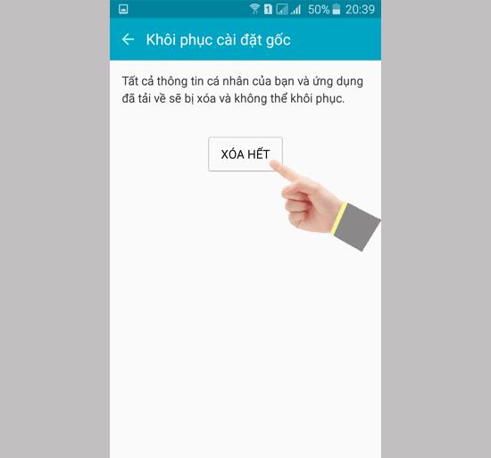 Samsung A7 2016 bi loi cam ung