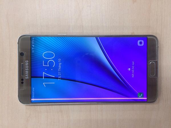 Samsung Note 5 bi soc man hinh