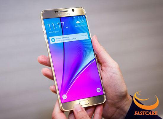 Samsung Note 5 liet cam ung vai diem
