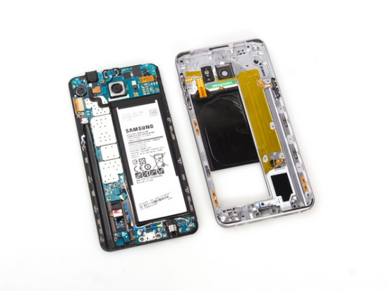 Samsung Note 5 loi camera sau