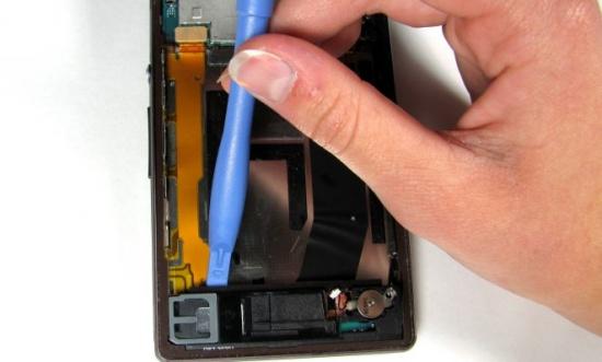 Sony Z3 bi mat rung
