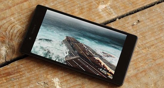 Sony Z5 bi giat man hinh