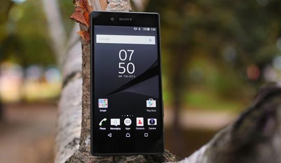 Sony Z5 nhanh het pin