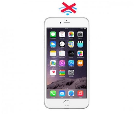 Sửa Wifi trên iPhone 6s