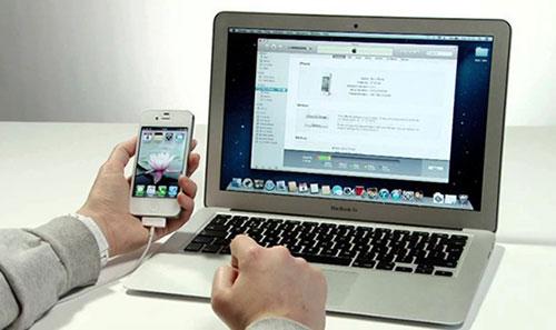 iPhone 5s khong nhan cable may tinh