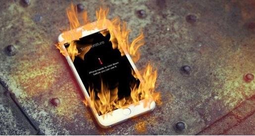 iPhone 7 Plus bị nóng