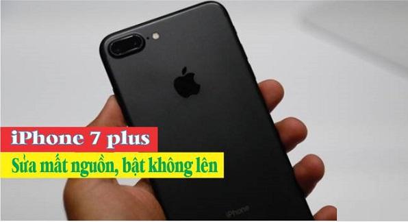 Sửa chữa iPhone 7 Plus bị mất nguồn, không lên nguồn