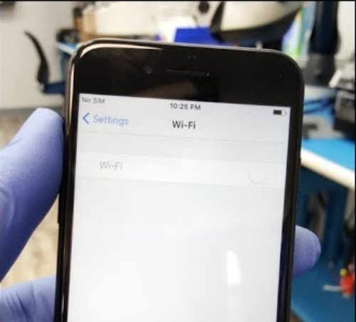 sua loi Wifi iPhone 7