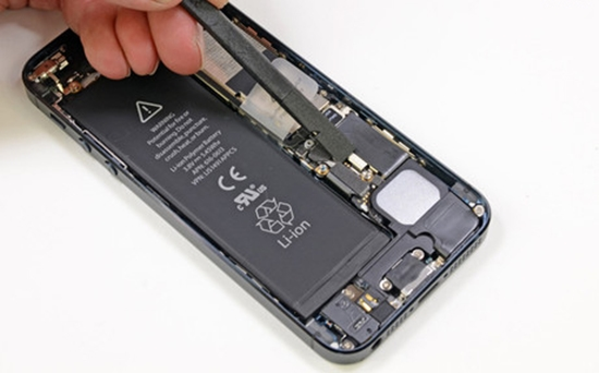 Sua loi mat nguon iPhone 5