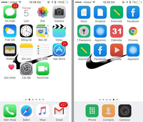 Tùy biến giao diện iPhone như Android không cần Jailbreak 1